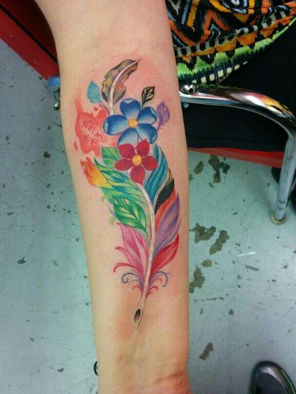 Psalm 91 Tattoo Designs For Men: Tattoos, Feather Tattoo, Body Art