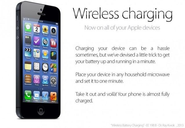 Microwave Your iPhone