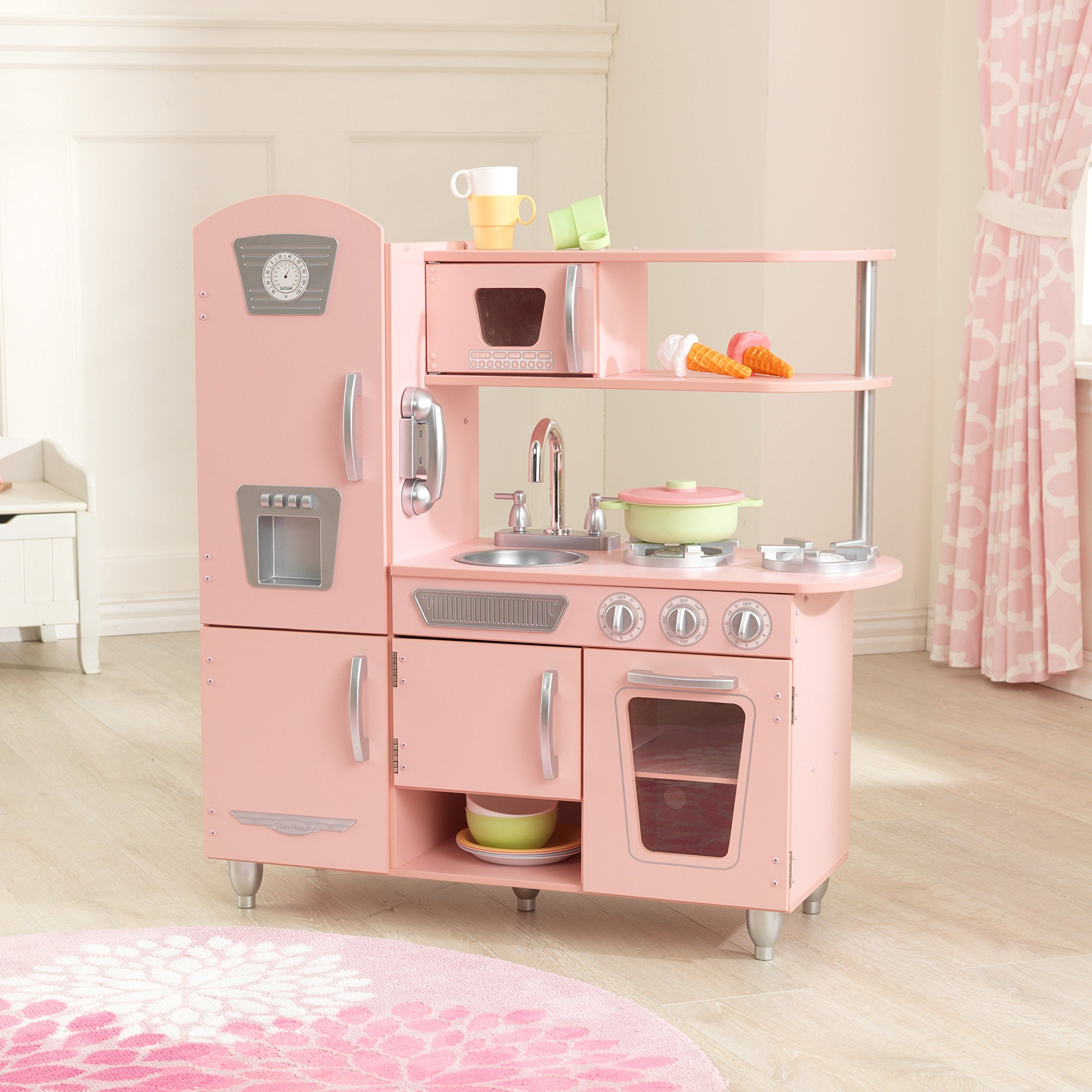 Kidkraft Vintage Kitchen in Pink * Details can be found by