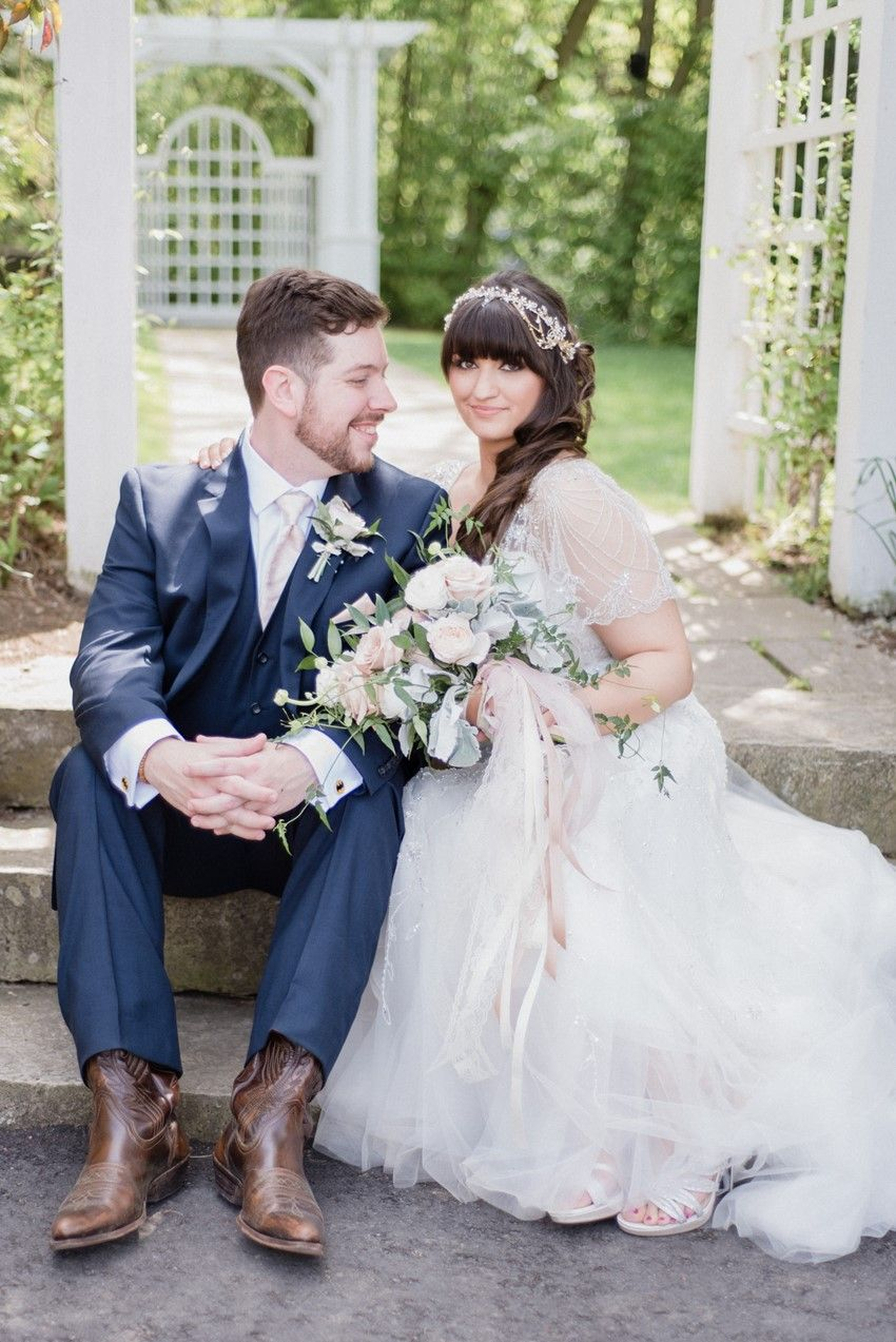 A timelessly romantic rose pink wedding romantic chic vintage