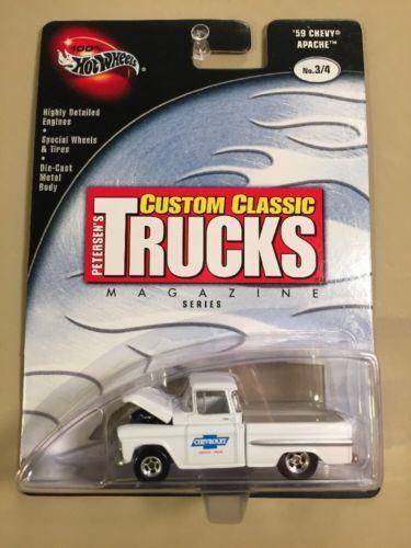 2002 Hot Wheels Custom Classic Trucks 039 59 Chevy Apache 14 Bin