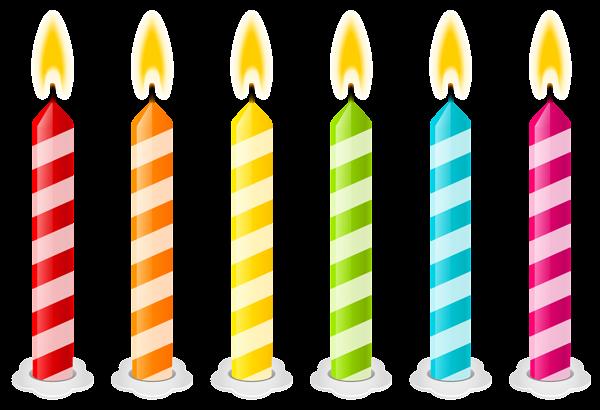 Birthday Candles Png Vector Clipart Image Velas De Cumpleanos Velas Clipart