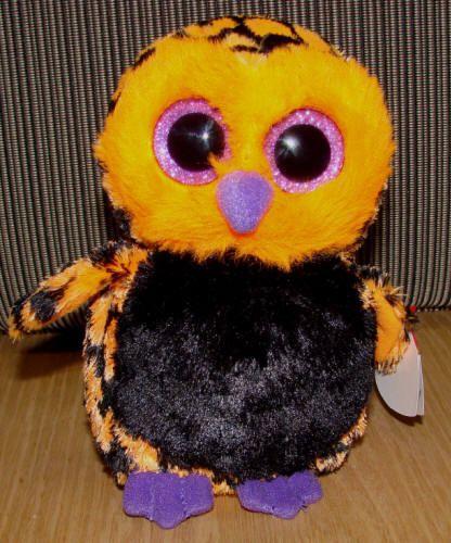 063b1544c70 Haunt the Halloween Owl - TY Beanie Boos