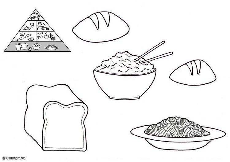 Piramide 3 Jpg 750 530 Alimentos Para Colorear Alimentacion Para Ninos Piramide