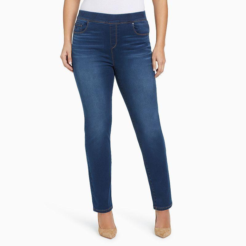7f02e9e4ae5 Plus Size Gloria Vanderbilt Avery High-Rise Pull-On Jeans