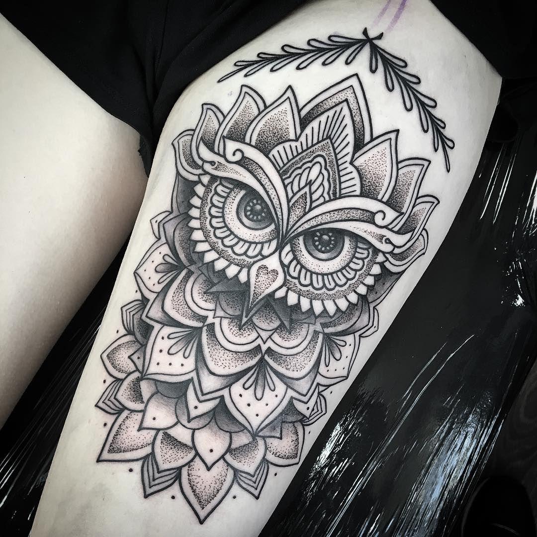 Owl Tattoo Tattoo Female Tattoos Mandala Tattoo Tattoo Designs
