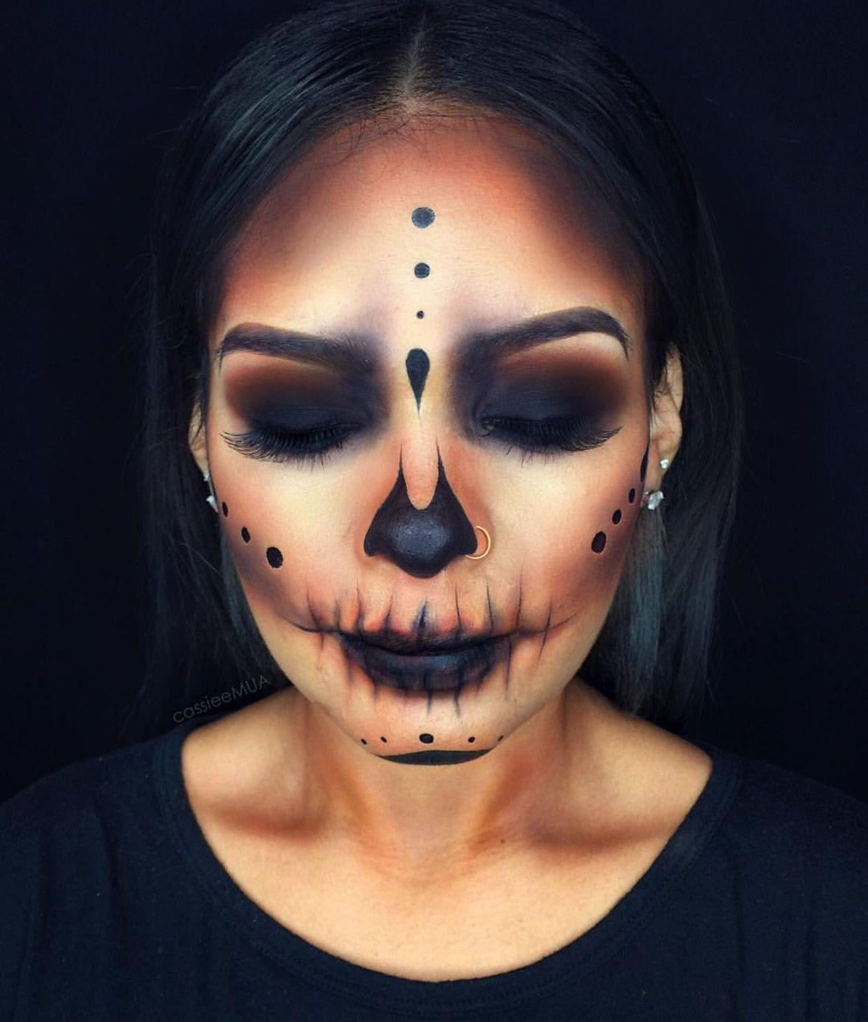 Sanamk06 Maquillaje de halloween mujer, Maquillaje de