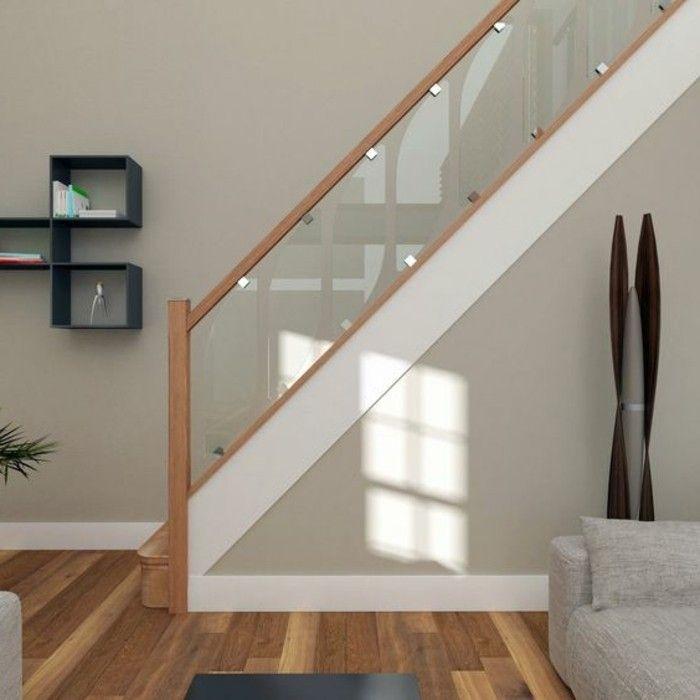 Glasgel nder treppe modernes haus design treppen for Modernes haus treppe