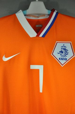 41672b879 Holland Netherlands Van PERSIE Home Replica Nike Jersey Shirt 7 2008  European Cup World Cup 2010 with Original Official Player size name and  numbers Van ...