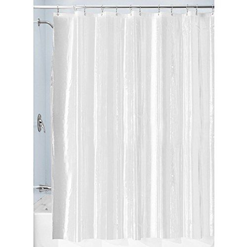 Lilac Beauty Waterproof PEVA Clear Mildew Free Shower Curtain Liners With Rust Proof Metal Grommets 72 Inch By 80 ClearTransparent