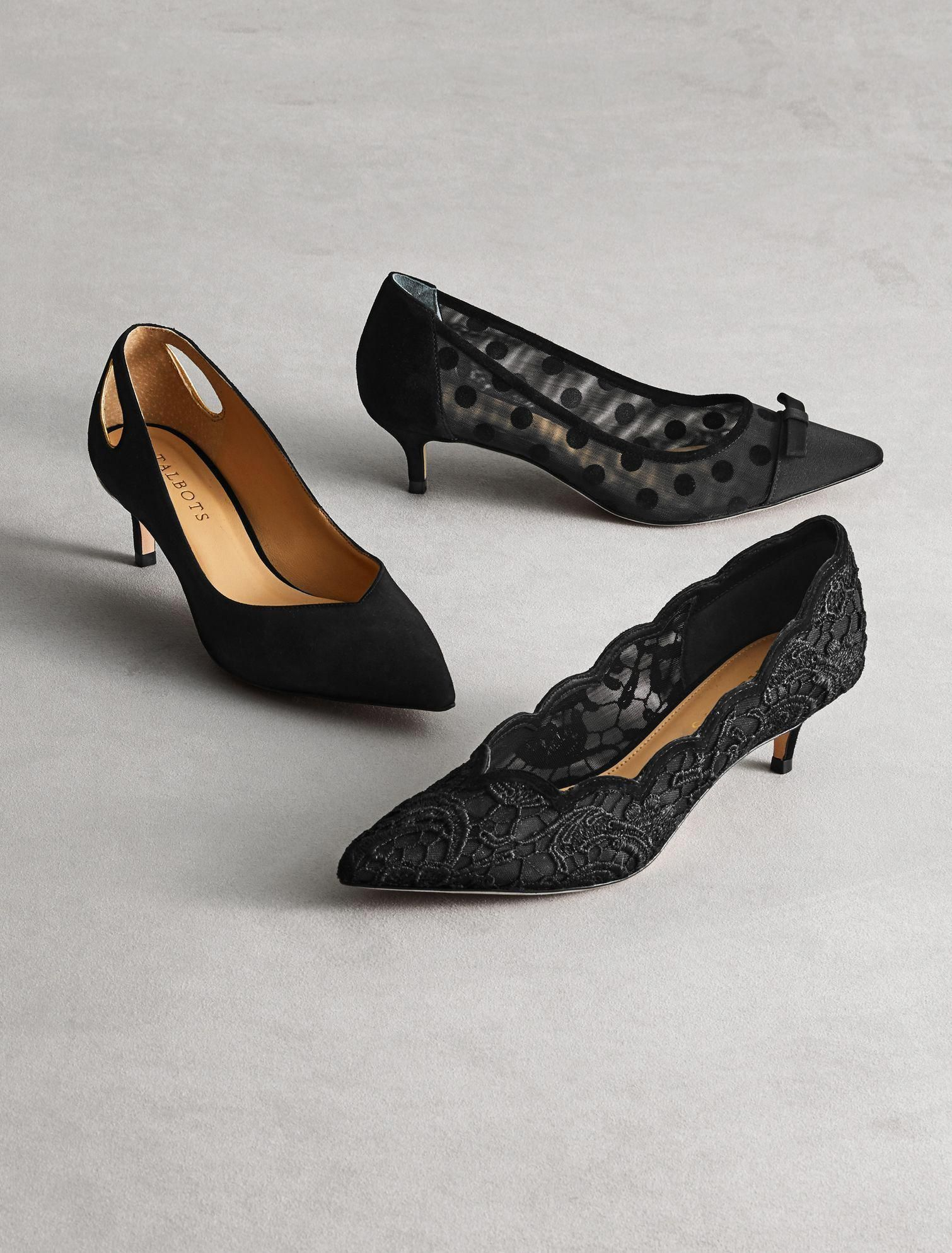 c803598eb3df Wear these fun kitten-heel pumps from work to dinner with ease ...