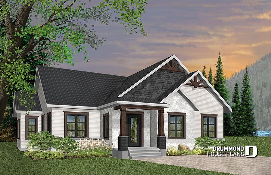 Discover The Plan 3284 Cj Providence 1 Which Will Please You For Its 3 Bedrooms And For Its Craftsman Northwest Styles Craftsman Style House Plans Ranch House Plans Craftsman House Plans