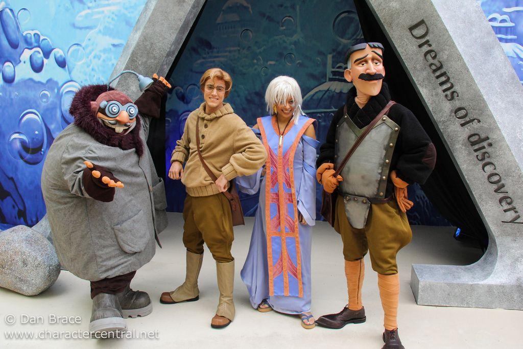 Milo Kida Vinny Mole From Atlantis The Lost Empire Disney