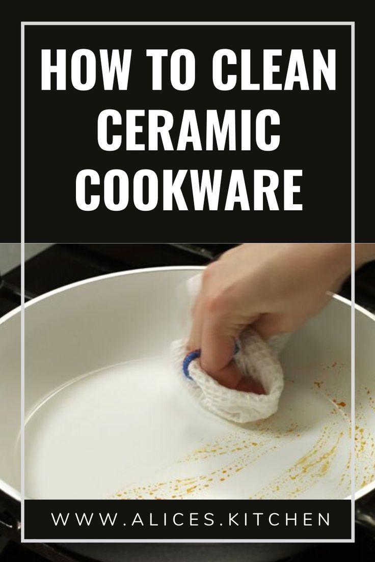How to clean ceramic cookware in 2020 ceramic cookware