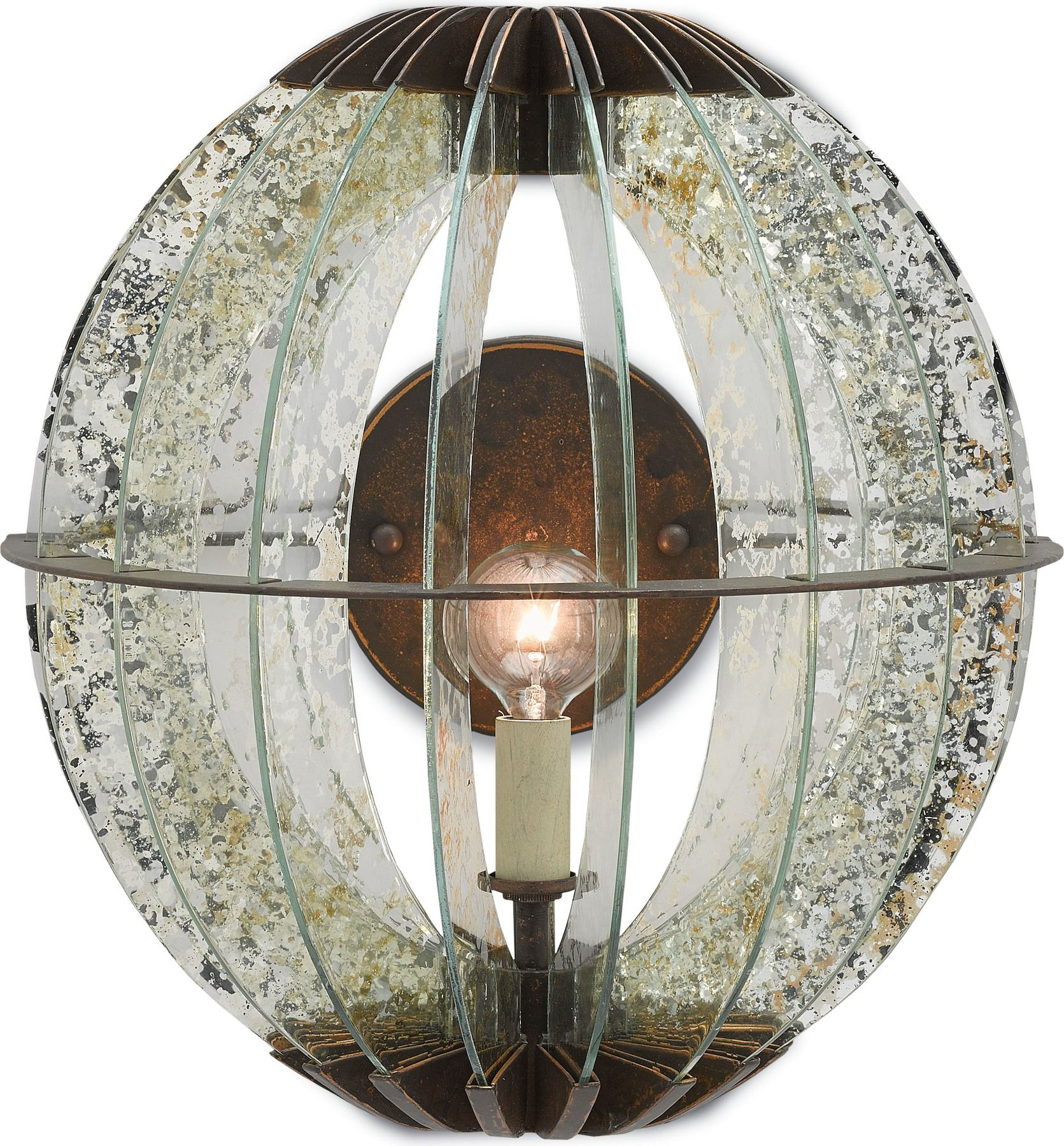 Zanzibar Wall Sconce by Currey & Co. #HedgeApple (With ...