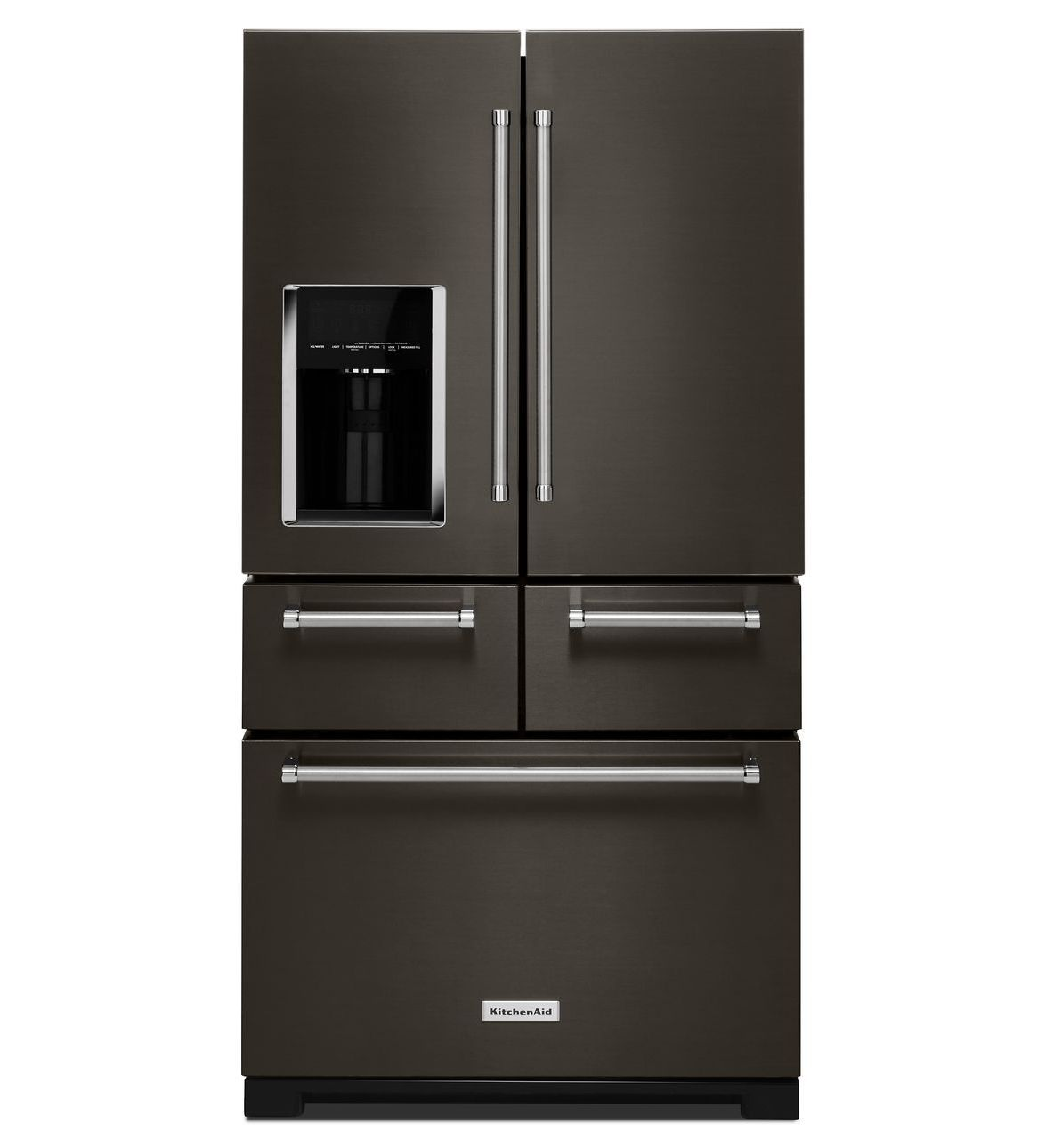 Black Stainless, 5 Door Refrigerator By Kitchenaid. Black Stainless Is The  Hottest New Color