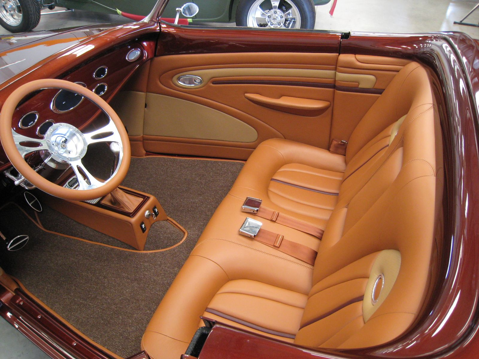 Car interior material - Hot Rod Interior Materials Custom 32 Duce Coup Kits Autos Post