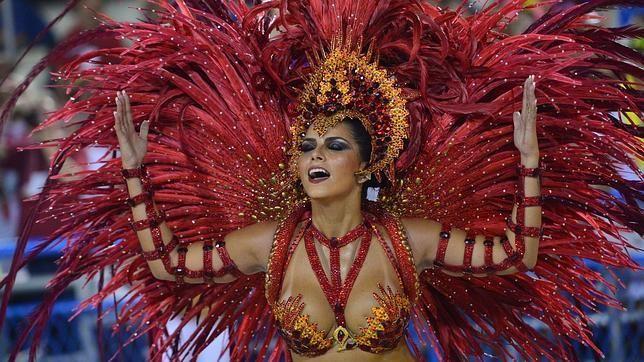 """4 Mar 2014 (Noticias) BRASIL - """"Fotos del carnaval de Río: belleza sexy en el 30 aniversario del Sambódromo"""" - ABC.es"""