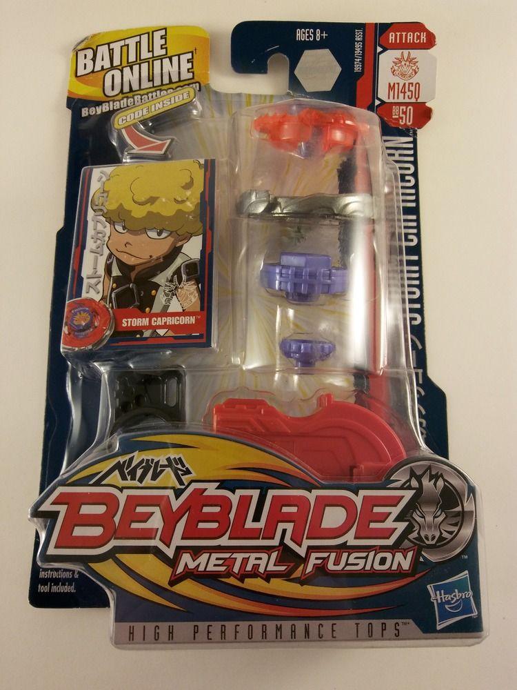 NEW! ORIGINAL Hasbro Beyblade Metal Fusion STORM CAPRICORN