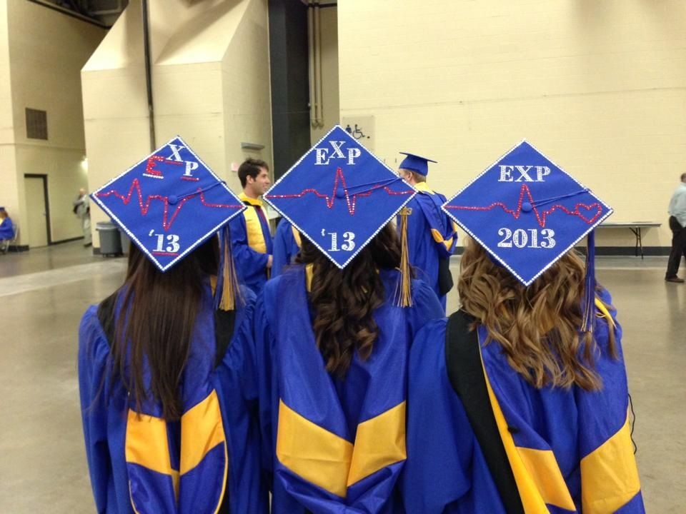These were THE CUTEST decorated caps at 2013 graduation ...