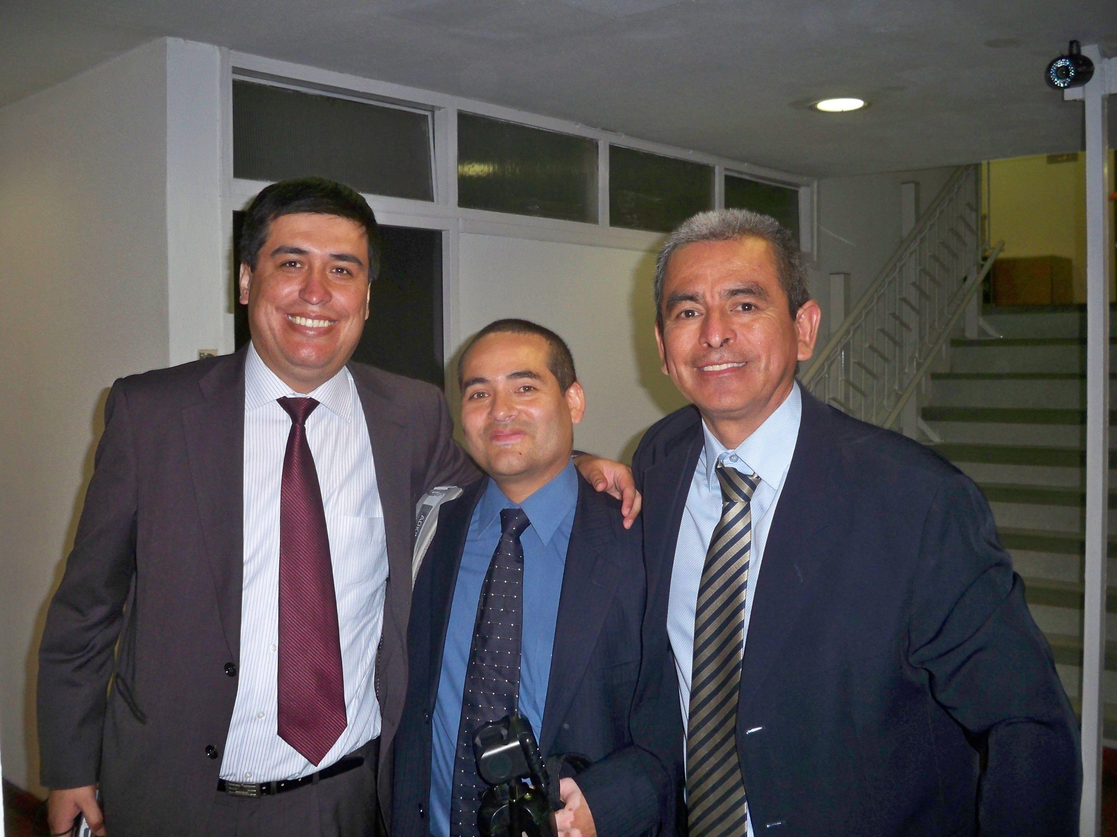 Buenos amigos, Ibo Urbiola y Jesús Ulloa.