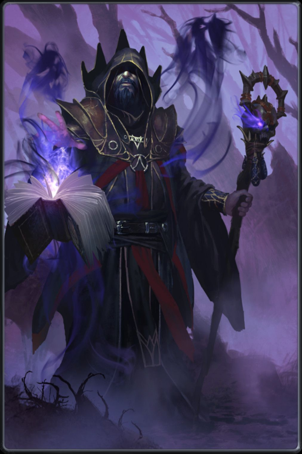Warlorck Fantasy art warrior, Fantasy illustration