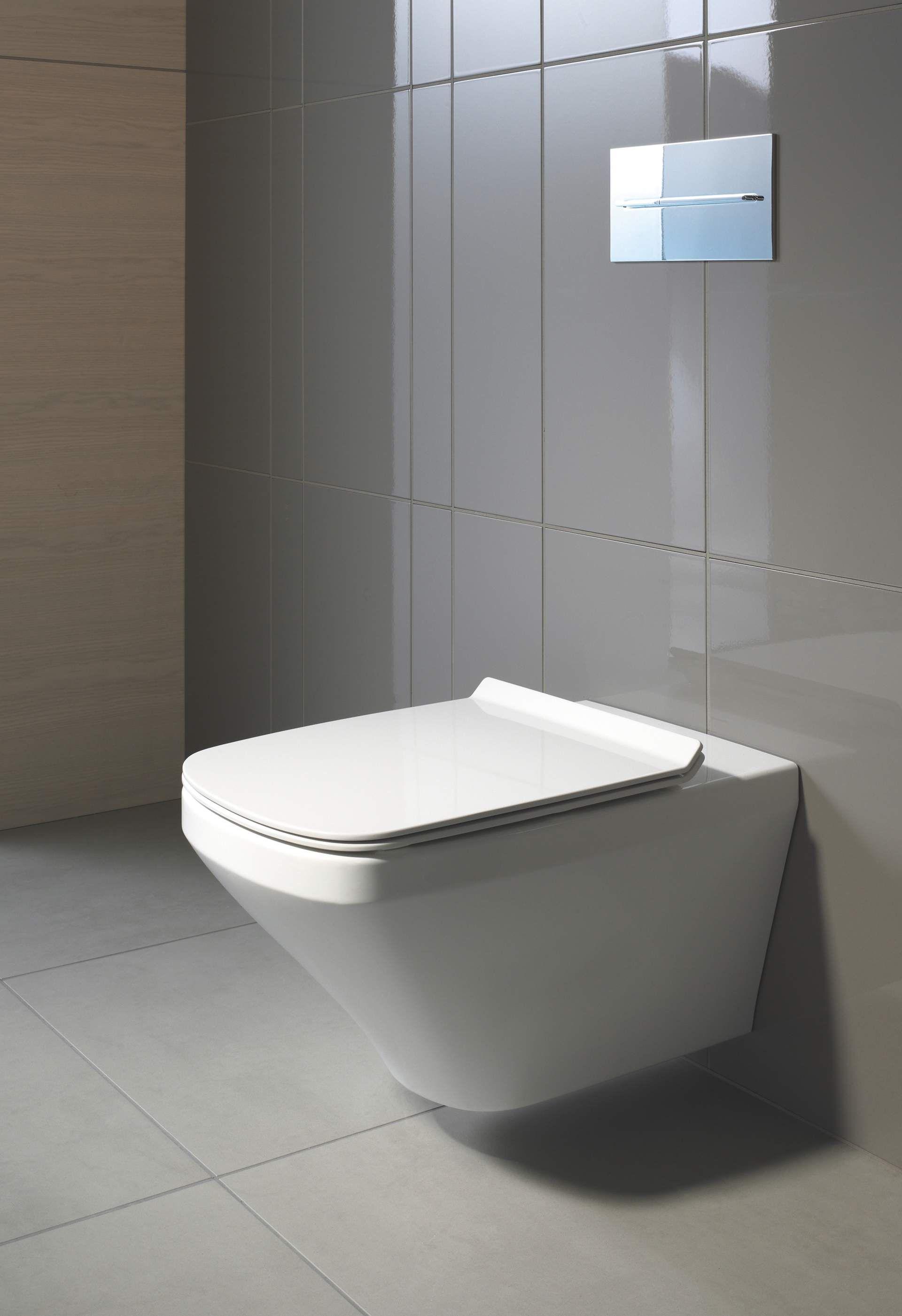 Durastyle Toilet Wall Mounted Duravit Rimless 254209 Duravit