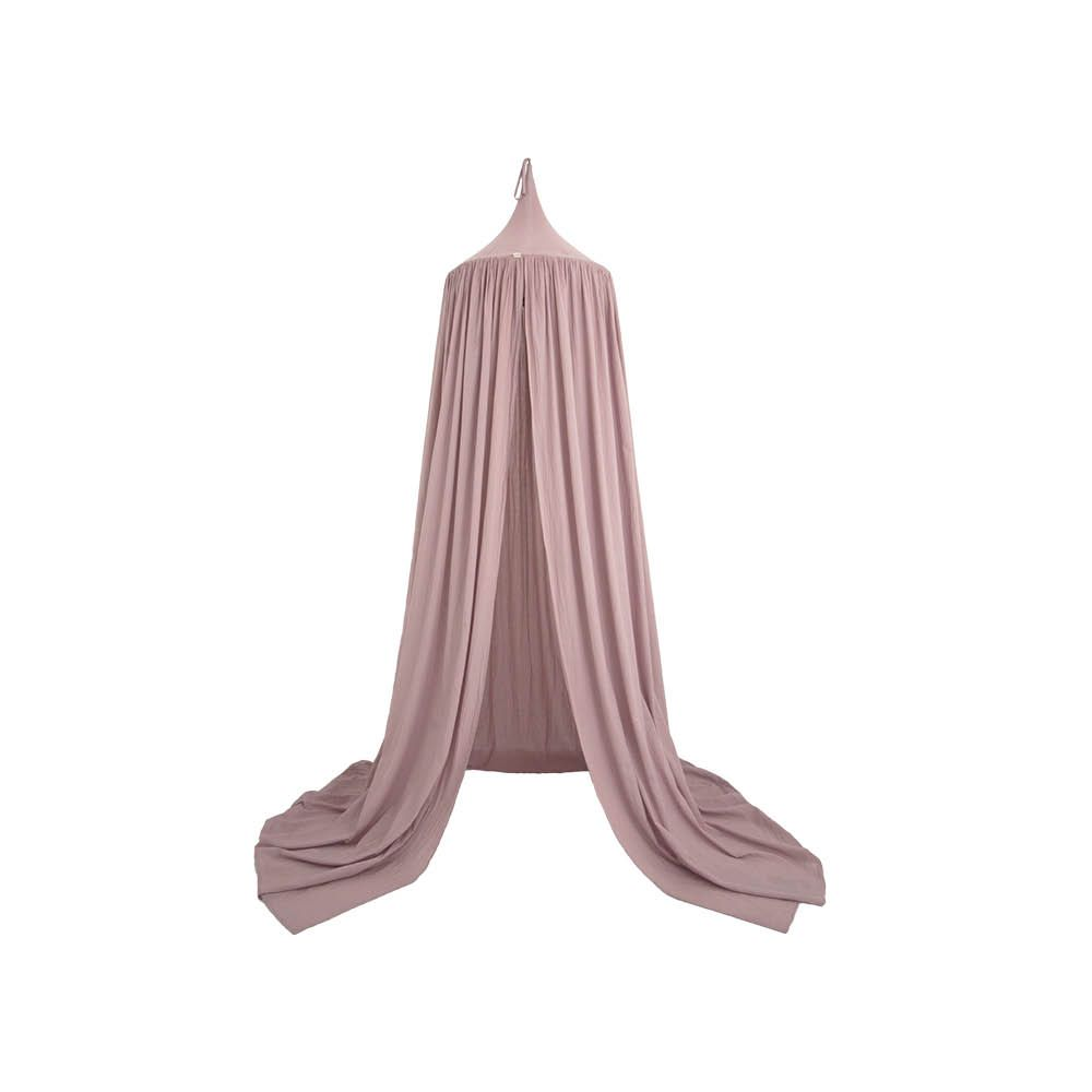 molly meg dusty pink cotton canopy by numero 74 pre order - Maroon Canopy Design