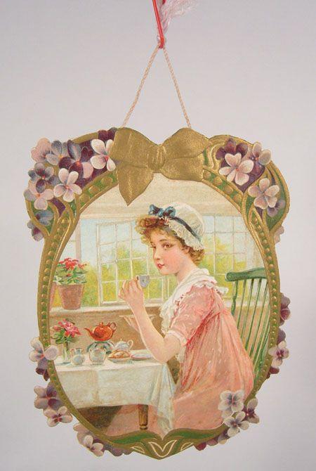 Frances Isabelle (Lockwood) Brundage (1854–1937)  —  Old Post Сard