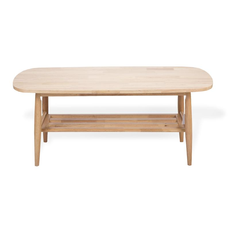 Nicky Rectangular Coffee Table Modern Solid Wood Beech Color Etsy In 2020 Rectangular Coffee Table Modern Coffee Tables Coffee Table