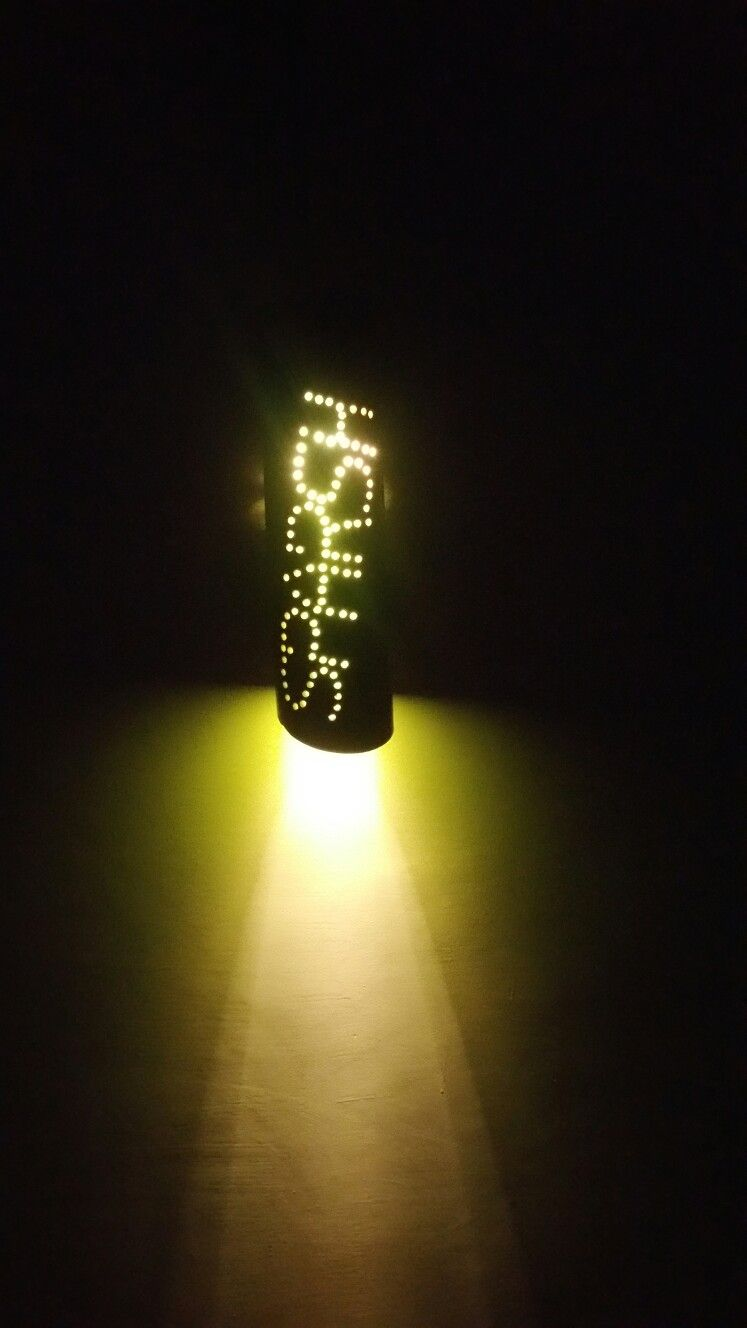 Costomised bamboo lights...