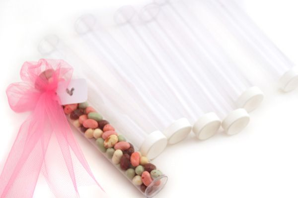 Such a fun way to create party favors!  SRM's TUBE comes in 4 sizes.