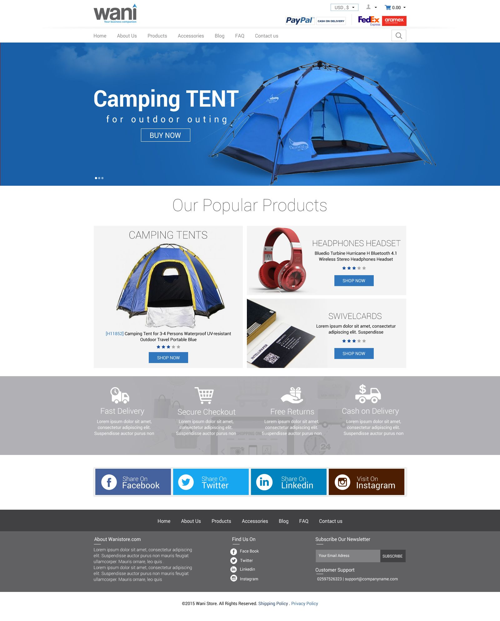 TENT MANUFACTURING CO WEBSITE TEMPLATE KICK STARTER CONCEPT  sc 1 st  Pinterest & TENT MANUFACTURING CO WEBSITE TEMPLATE KICK STARTER CONCEPT | DINA ...