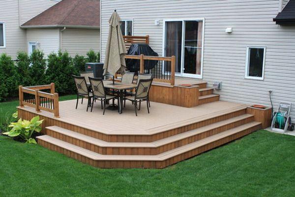 modern patio deck in a hall customize patio deck design - Patio Deck Design Ideas