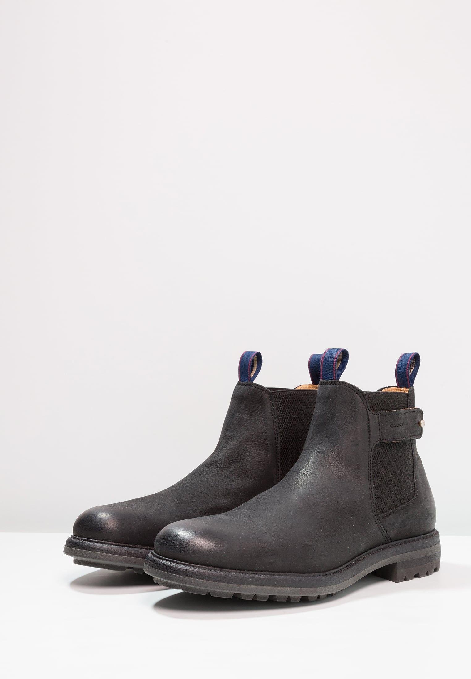 Nobel Scarpemania Boots Gant Zalando Stivaletti it Black BOWdW8q