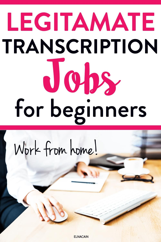Pin on Transcription Jobs