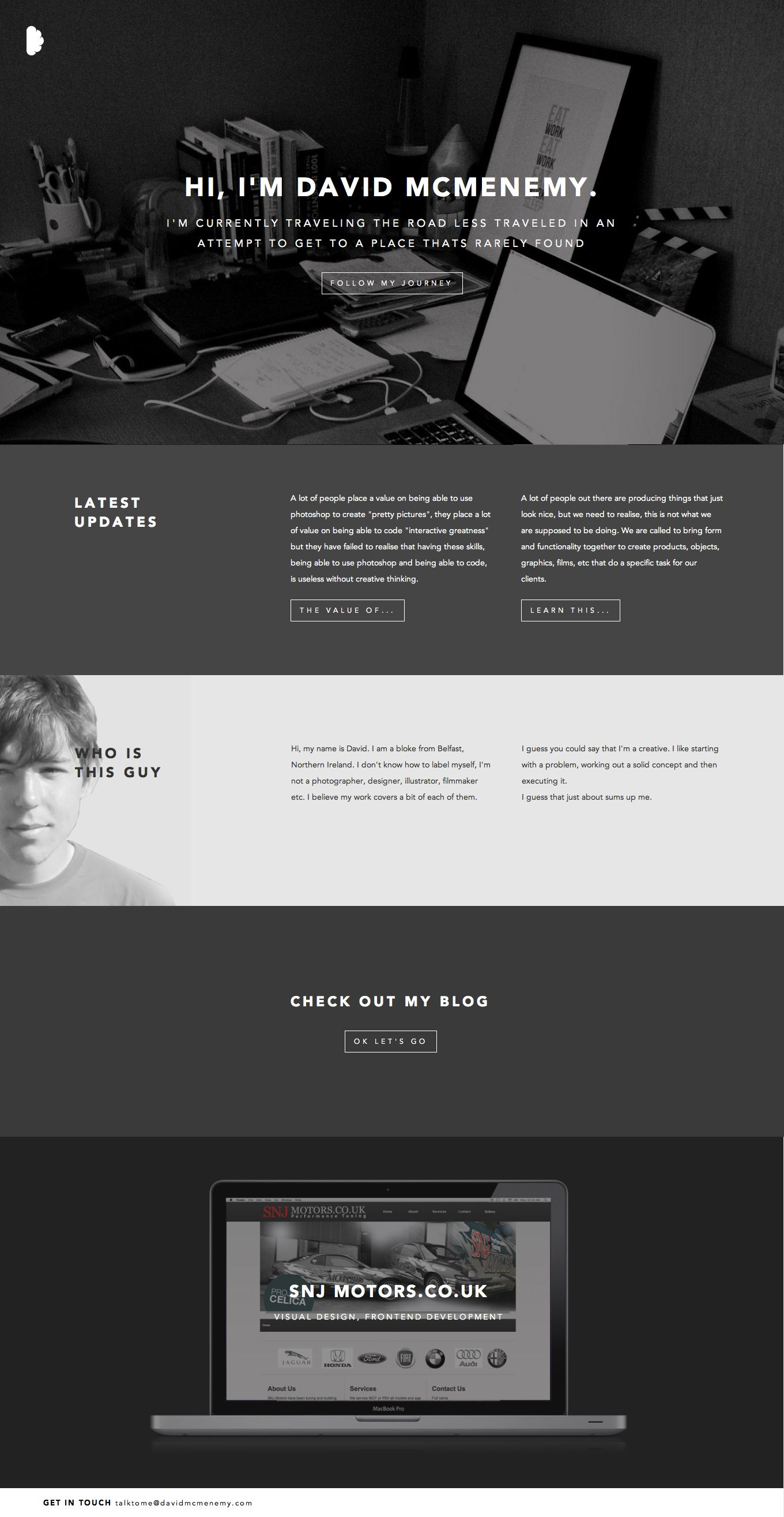 a personal website will perk the curiosity of the resume