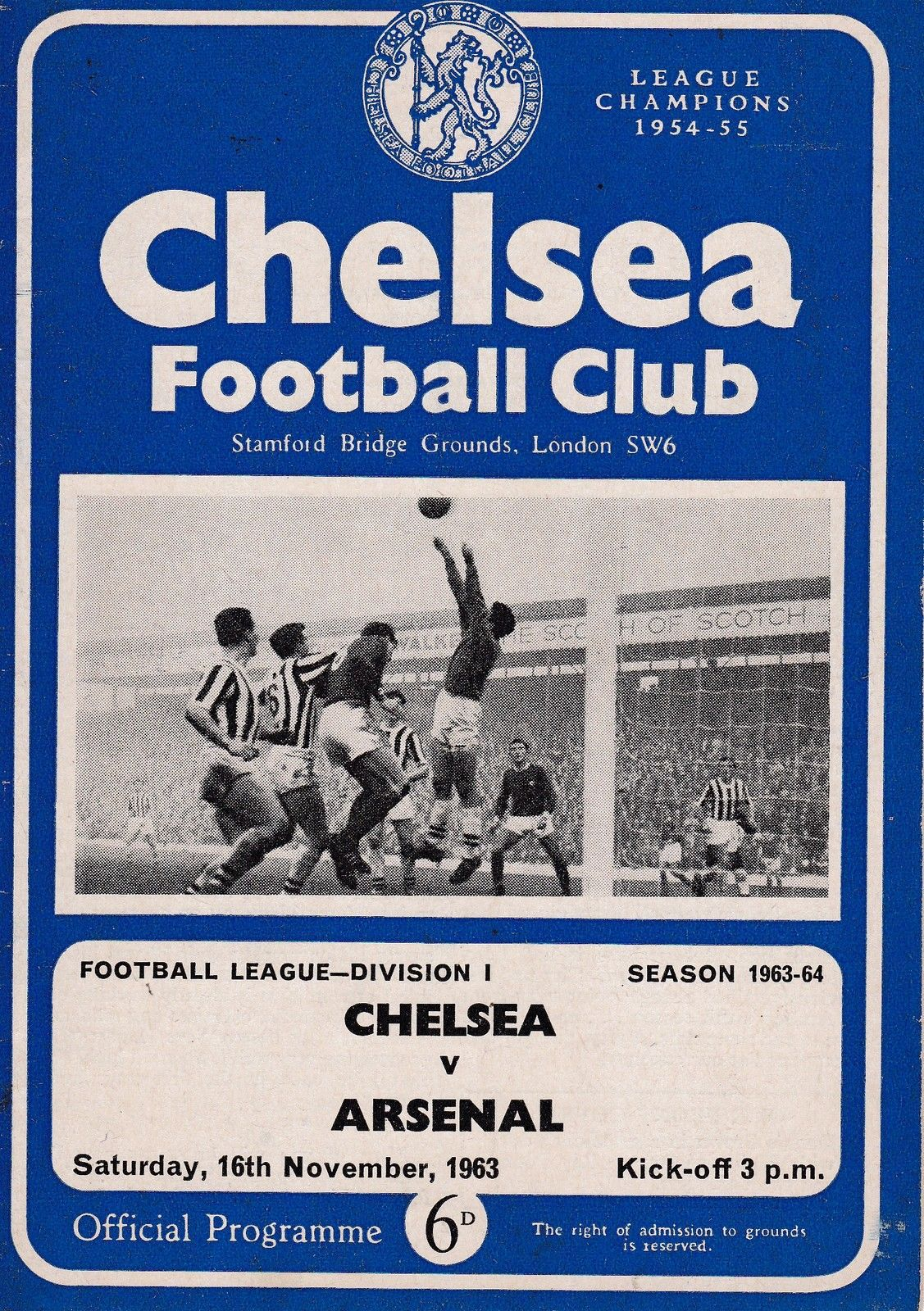 Pin On Chelsea Programme Covers