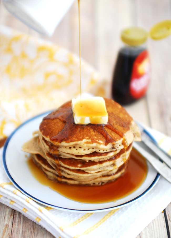 How To Make Classic Buttermilk Pancakes At Home A Quick Simple Easy And Tasty Breakfast Recipe Of Butte Buttermilk Pancakes Food Delicious Breakfast Recipes