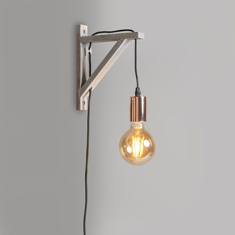 Wall lamp hangman taupe with copper conservatory pinterest wall lamp hangman taupe with copper aloadofball Image collections