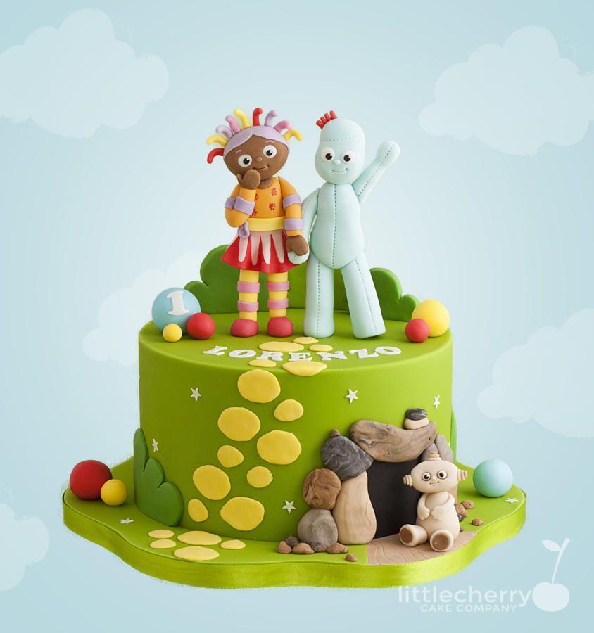 In The Night Garden Cake 1st Birthday Cakes Daisy Cakes Garden Cakes
