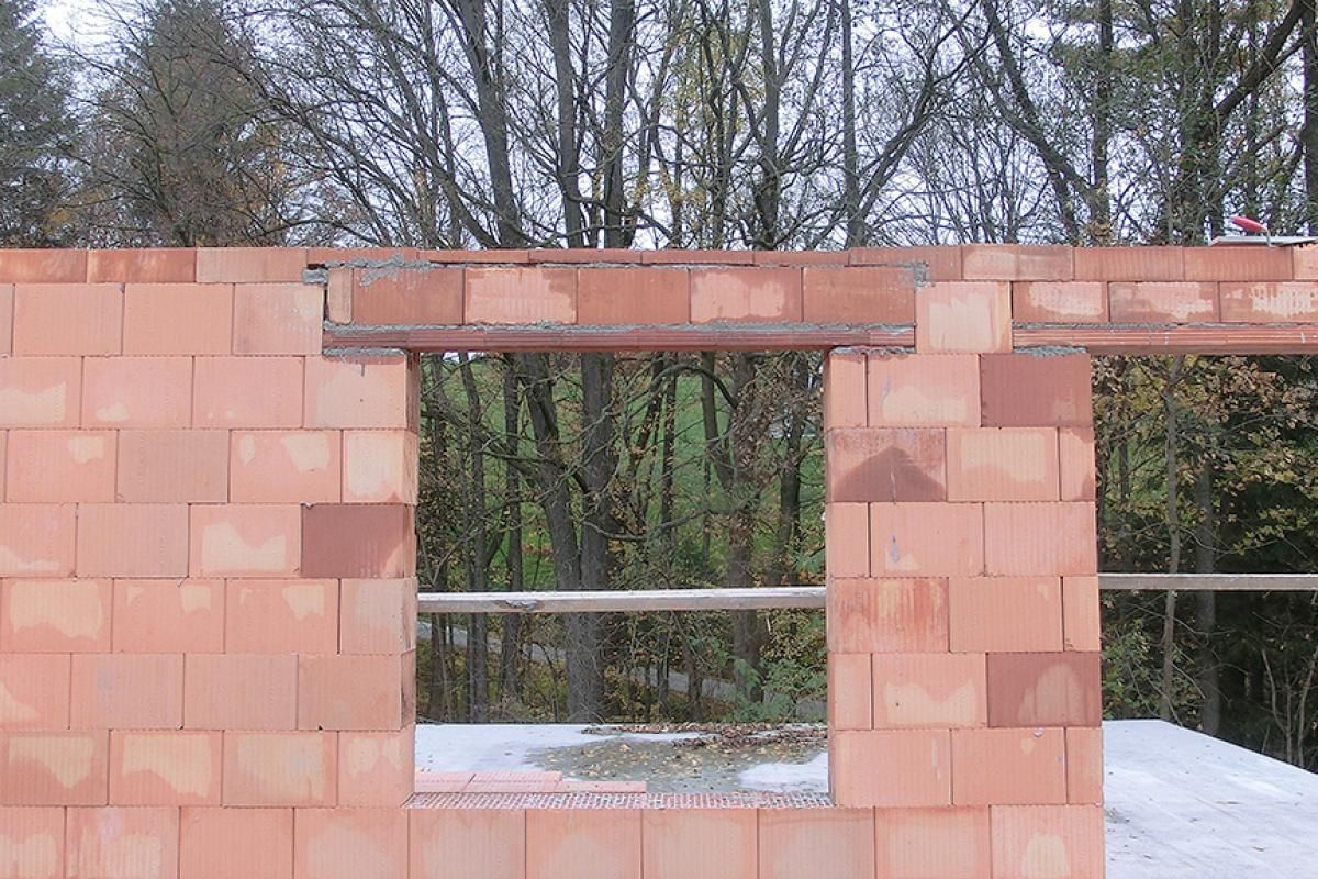 Fenstersturz Einbauen Anleitung Diybook Fenstersturz Fenster Mauer Bauen
