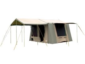 Coleman Milford Canvas Tent And Pole Set Khaki Moss Outdoor Camping Gear Coleman New Zealand Canvas Tent Tent Outdoor Camping Gear