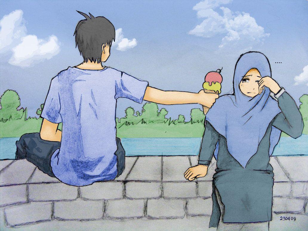Gambar Kartun Muslimah Fotografer Gambar Kartun Kartun In 2019