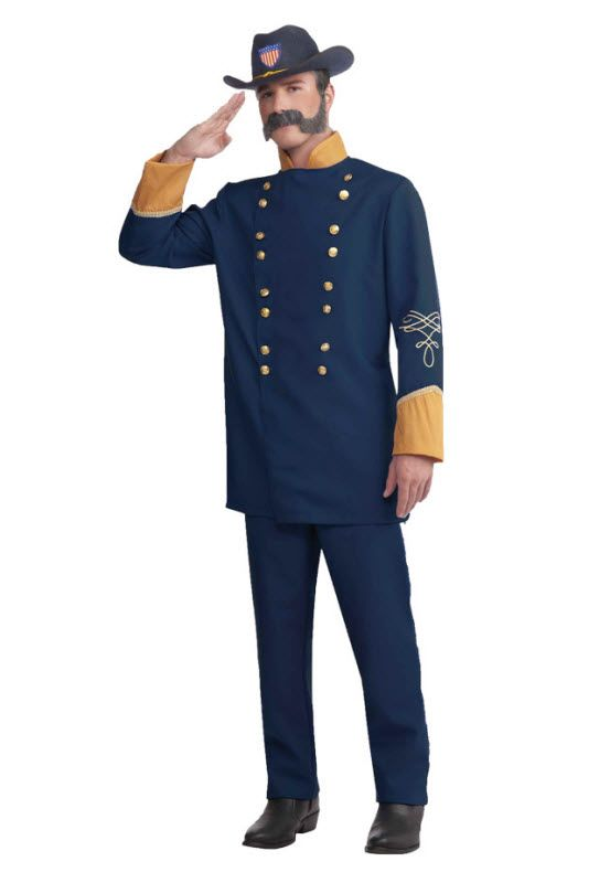 Child Blue UNION OFFICER Military Costume Hat