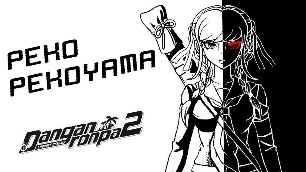Danganronpa 2 Goodbye Dispair Peko Pekoyama by KingKane1