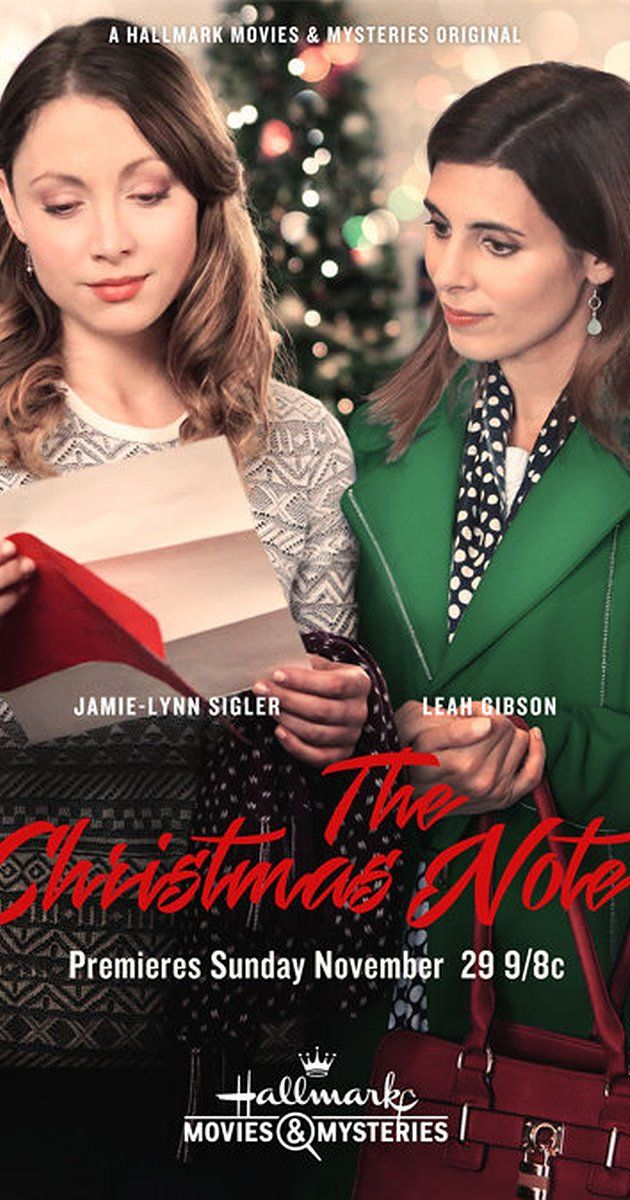 The Christmas Note Hallmark Cheesy Christmas Movies Hallmark Movies Christmas Movies