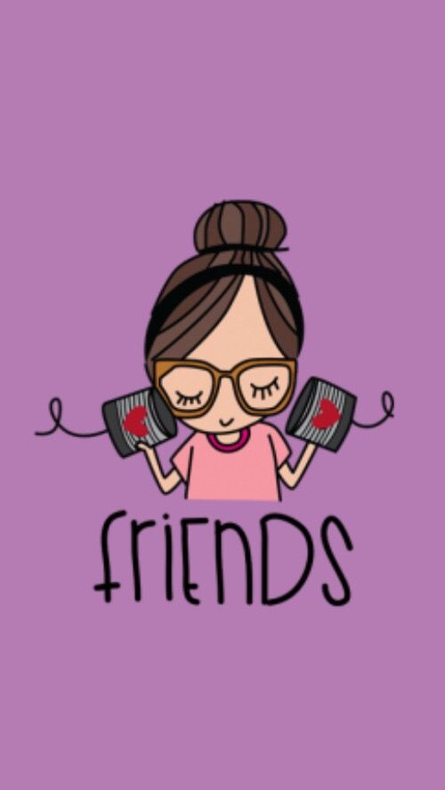 Amigas 2 Cute Backgrounds Pinterest Friends Wallpaper