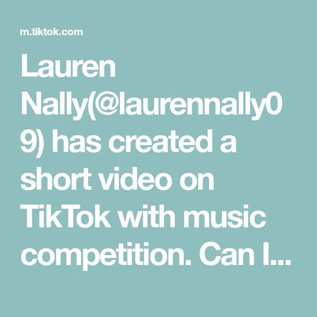 Lauren Nally Laurennally09 Has Created A Short Video On Tiktok With Music Competition Can I Be The Ceo Of Hair V Music Competition Girlfriends Be Like Music