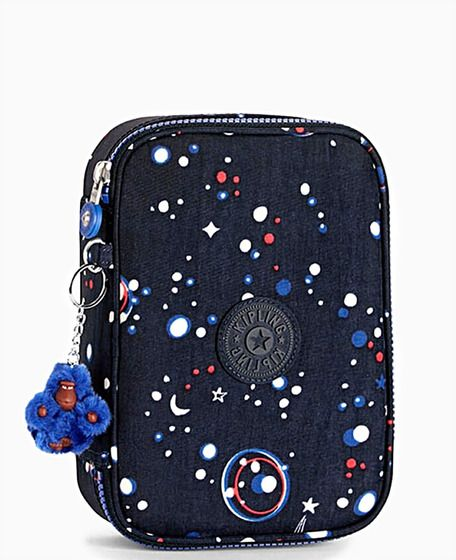 ad60d7c53 estojo kipling galaxy | Estojo Kipling 100 Pens Galaxy Party Masculino na .